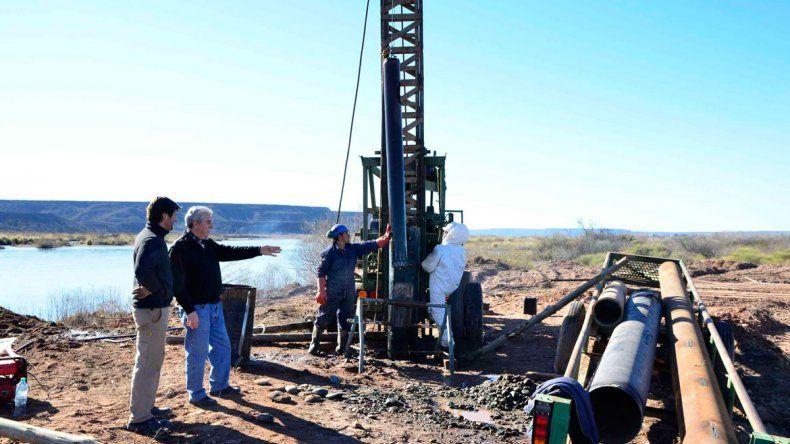 Se concluyó la perforación de tres nuevos pozos de agua.