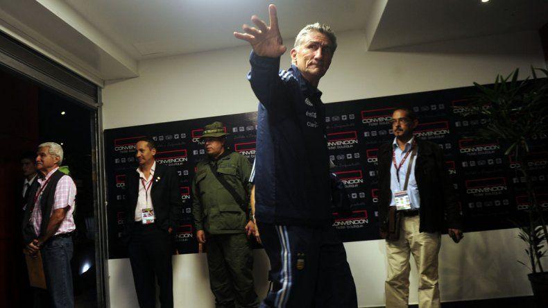 El seleccionado argentino de fútbol llegó a agitada Venezuela