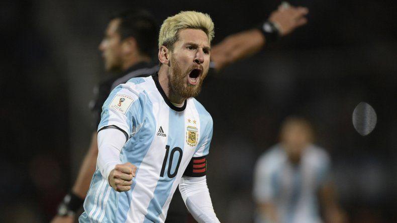 El crack superó a Batistuta durante la Copa América y siguió sumando ante Uruguay.
