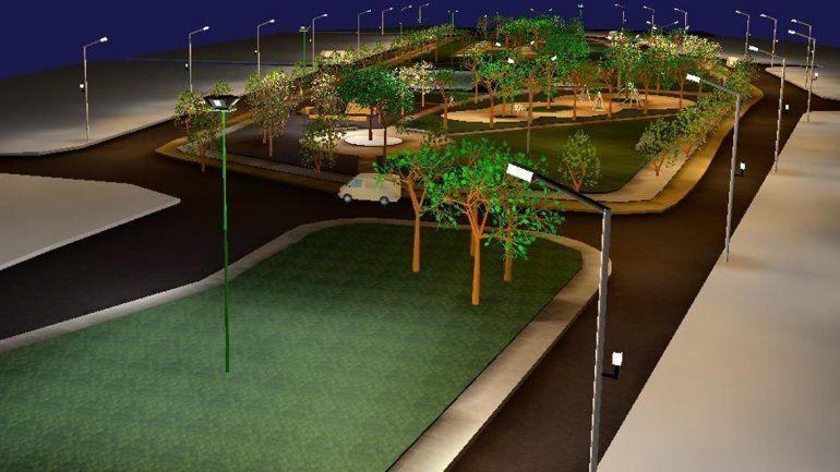 Para el verano, el barrio Belgrano tendrá un nuevo parque
