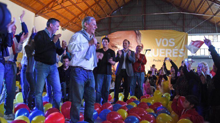 El intendente Horacio Pechi Quiroga fue elegido como líder del espacio.