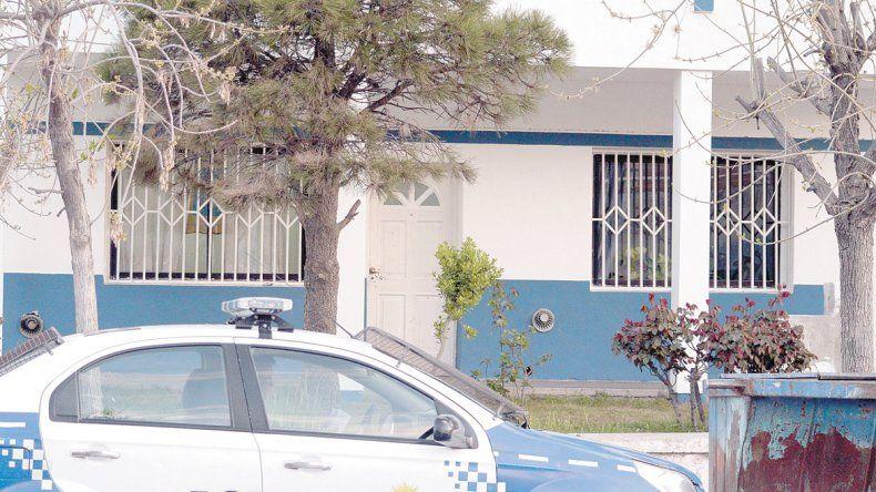 El área de Adicionales de la Policía se encuentra sobre calle Montevideo