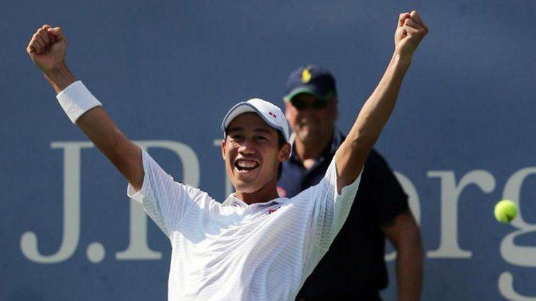 Nishikori da el golpe y elimina a Murray del US Open