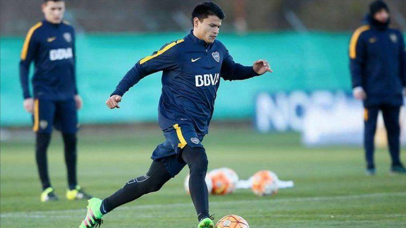 El delantero Walter Bou tiene todas las fichas para debutar de titular el domingo en la Bombonera ante Belgrano.