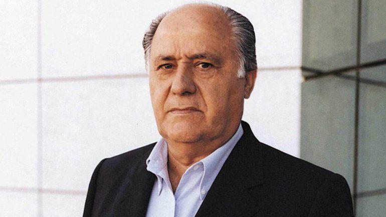 Este señor es Amancio Ortega