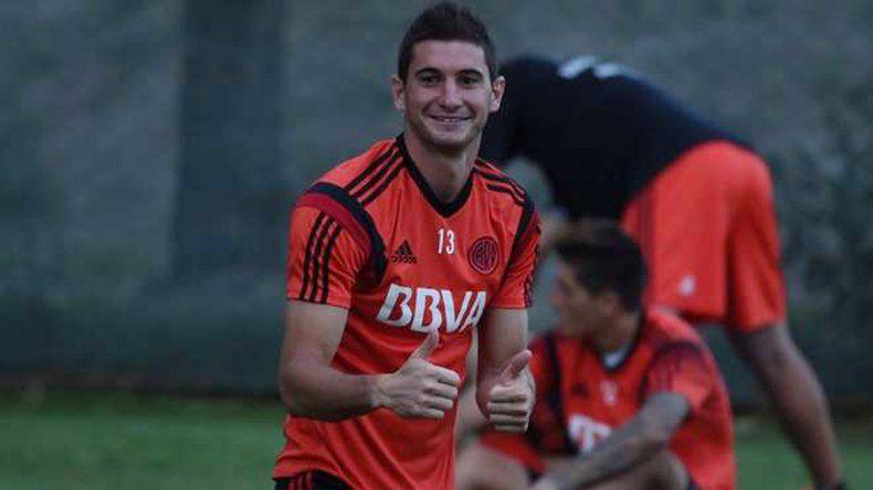 El goleador de River estará en el once titular para enfrentar a Talleres.