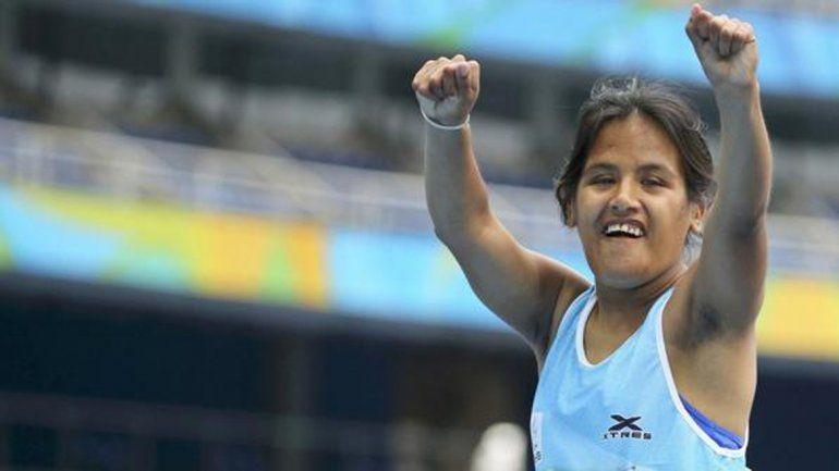 Un oro en atletismo para la rosarina Yanina Martínez