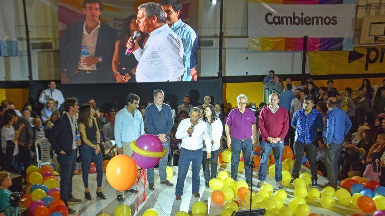 Cambiemos copó el Pacífico y Pechi dijo que Macri es un líder para erradicar el populismo