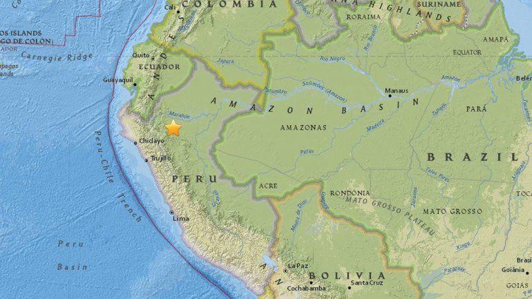 Un terremoto de 6 grados sacudió el norte de Perú