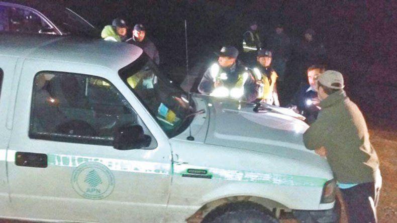 Policía y guardaparques