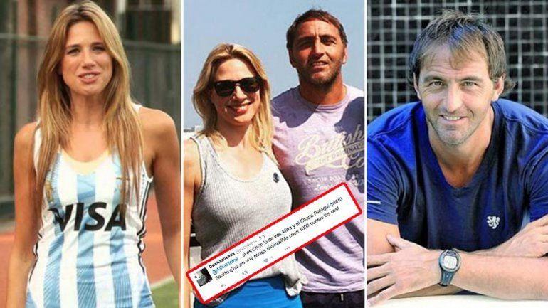 Alina Moine confirmó su romance con el Chapa Retegui: Sí, estamos de novios