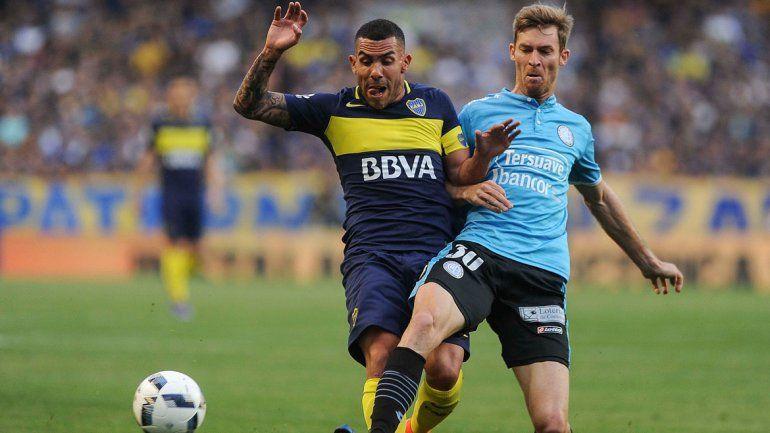 En la Bombonera, Boca superó por  3 a 0 a Belgrano