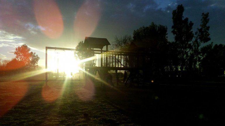 Cristian eligió el Parque Valentina Norte.