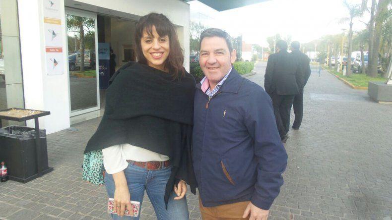 Donda y el diputado Carlos Sánchez.