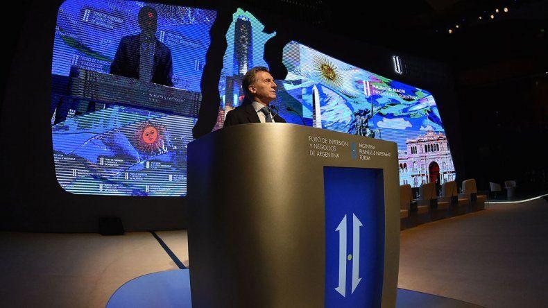 Macri aseguró que ya se ve el fin de la recesión