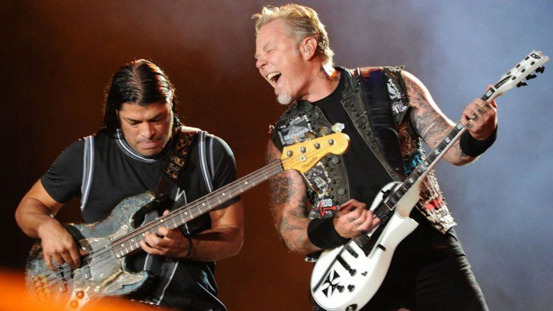 James Hetfield y Robert Trujillo serían