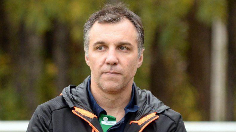 Garutti en su primer año como DT de primera jugará por el ascenso.