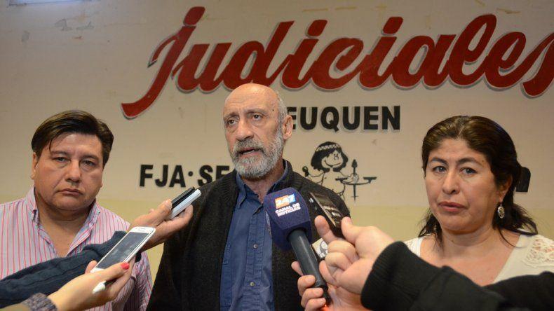 Los judiciales se reunirán con Moya para encauzar la negociación
