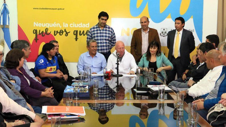 Municipio y Nación acuerdan acciones para otorgar fondos a los clubes