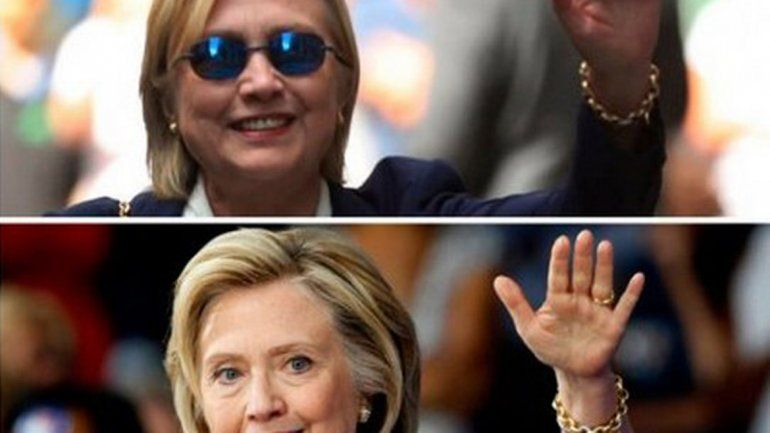 ¿Es cierto que la candidata presidencial usa una doble?