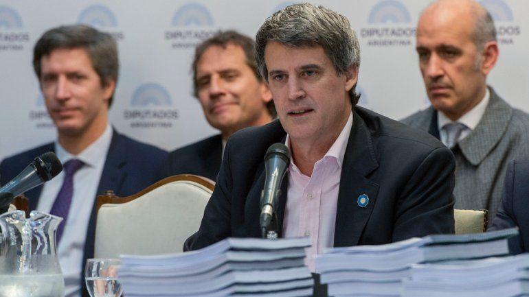 El ministro expuso el presupuesto 2017 en la Cámara de Diputados.