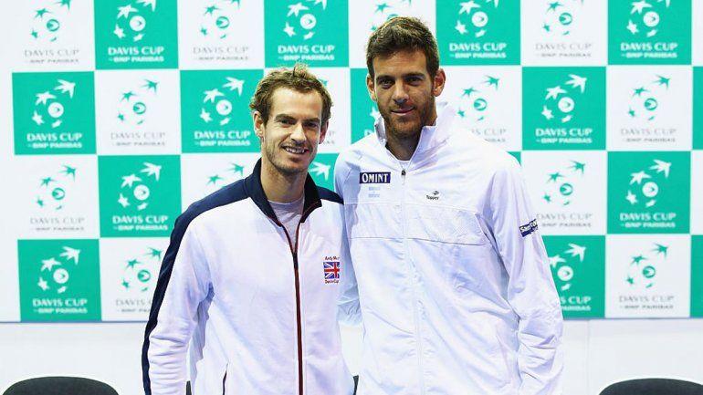 Murray y Del Potro se enfrentaron en la final de Río de Janeiro.