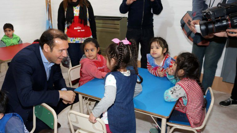 Gutiérrez inauguró el Centro de Desarrollo Infantil de Junín de los Andes