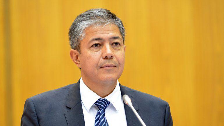 El vicegobernador Rolando Figueroa dijo que no piensan en elecciones.