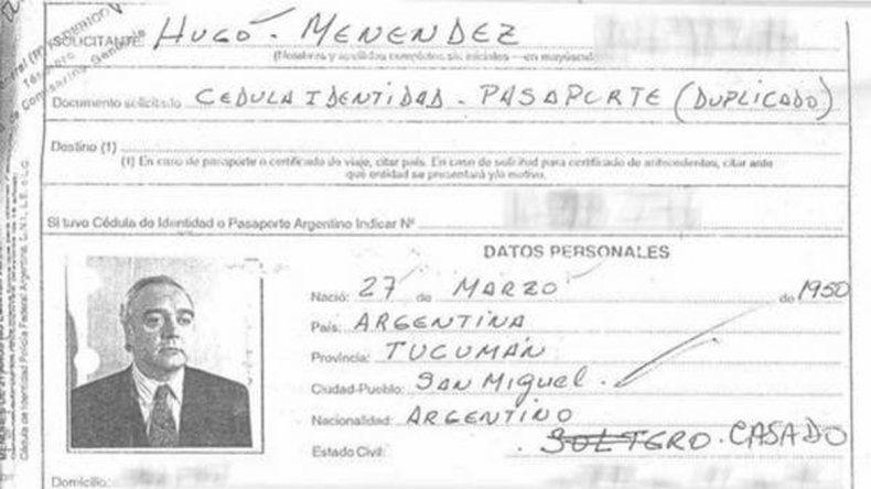 Hugo Menéndez era buscado por Interpol y la DEA.