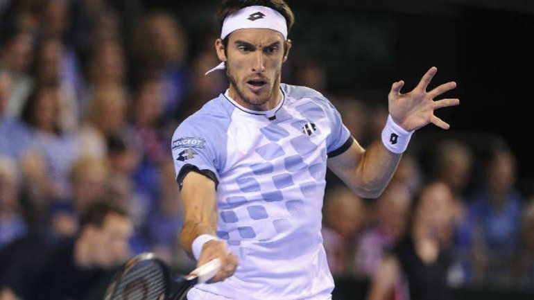 Leo Mayer logró la gloria ante Evans y Argentina clasificó a la final de la Copa Davis