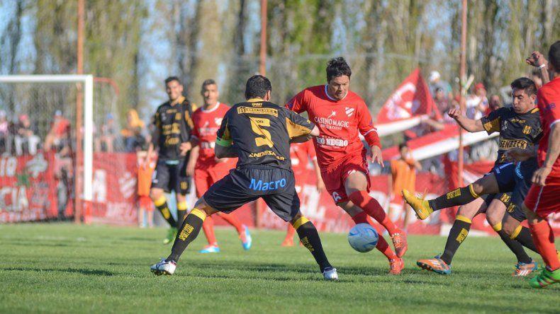 El Rojo no pudo en casa ante Deportivo Madryn
