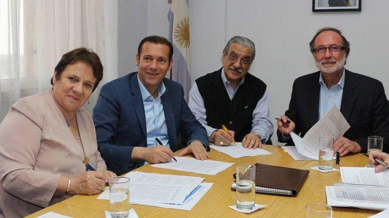 Provincia y Nación realizarán obras en el Parque Pocahullo