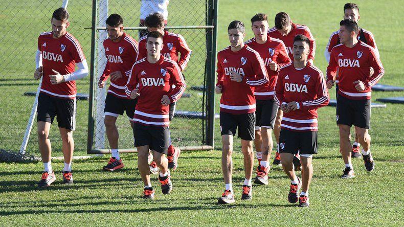 El Millonario se entrenó en vistas al partido de la Copa Argentina y la continuidad del torneo oficial.
