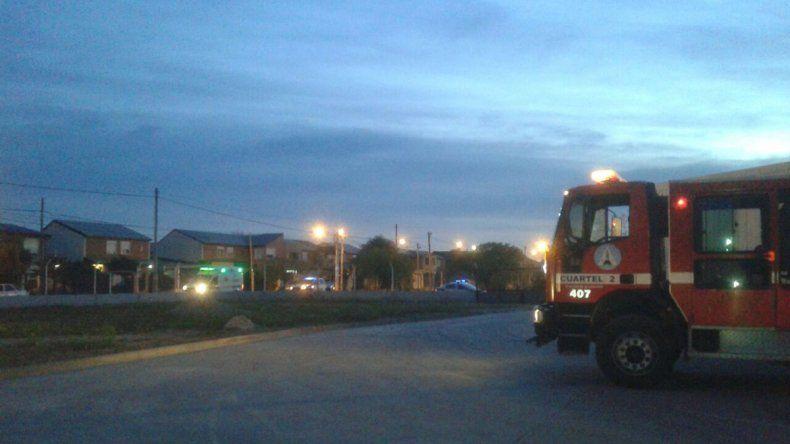 Se incendió el depósito de un súpermercado La Anónima: no hubo heridos