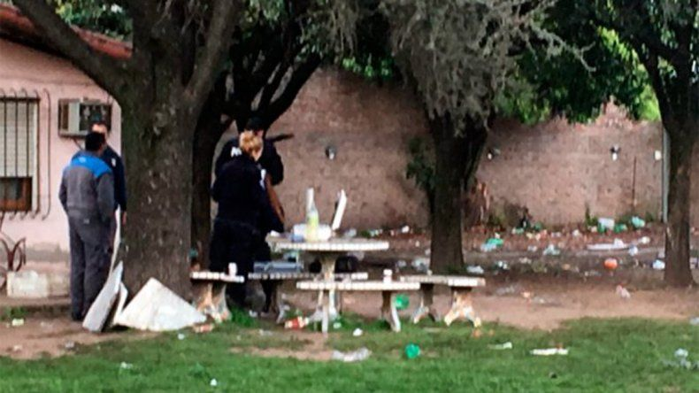 Fiesta de la primavera violenta: tiros y un muerto en Moreno
