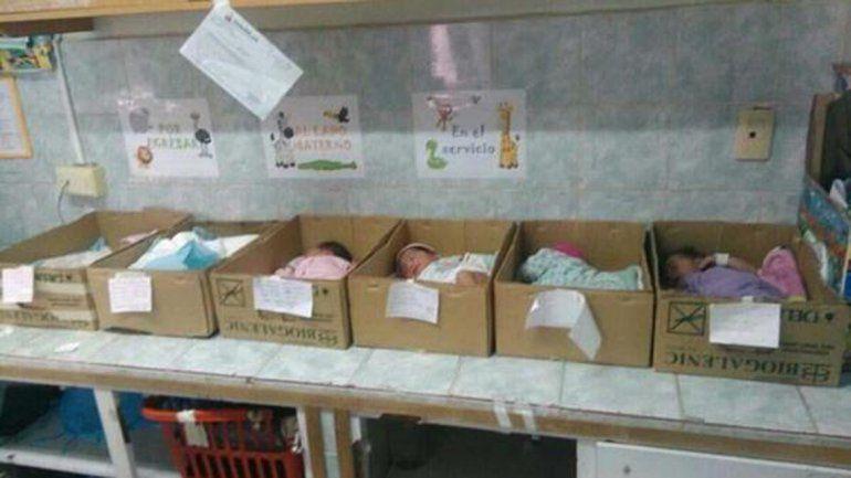 Esta es la imagen de un hospital de Anzoátegui que dio la vuelta al mundo.