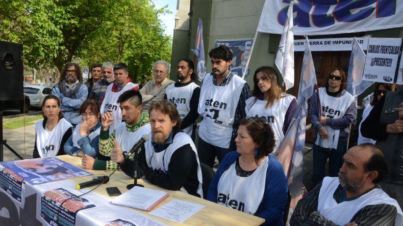 Para el sindicato de los maestros el paro alcanzó una adhesión del 80%.