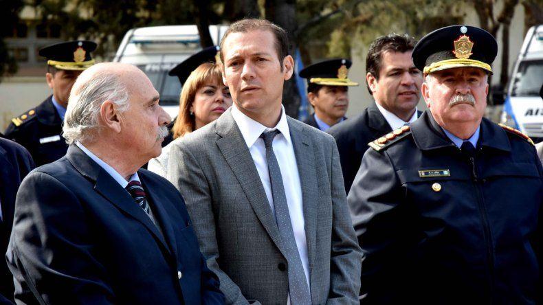 El gobernador Omar Gutiérrez