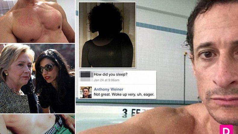 La chica le dio los chats explícitos con Weiner a un diario que los publicó.