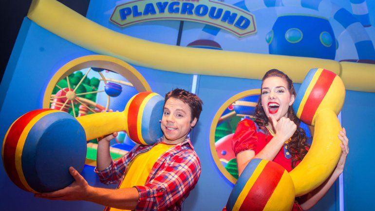 Juanchi y Juli de Disney Junior vuelven a Neuquén con Playground en vivo.