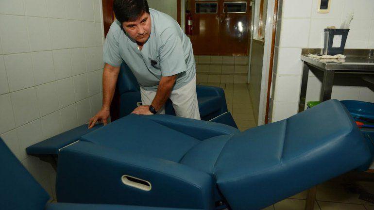El hospital Castro Rendón tiene cinco sillones nuevos de diálisis