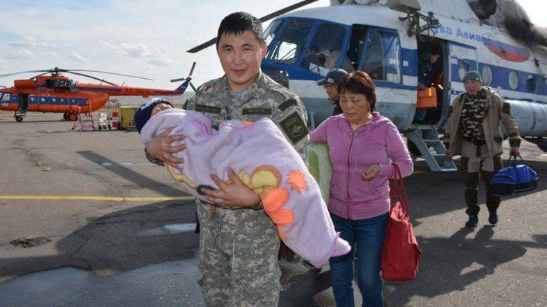 Se había montado un gigantesco operativo de rescate para salvar a Tserin.