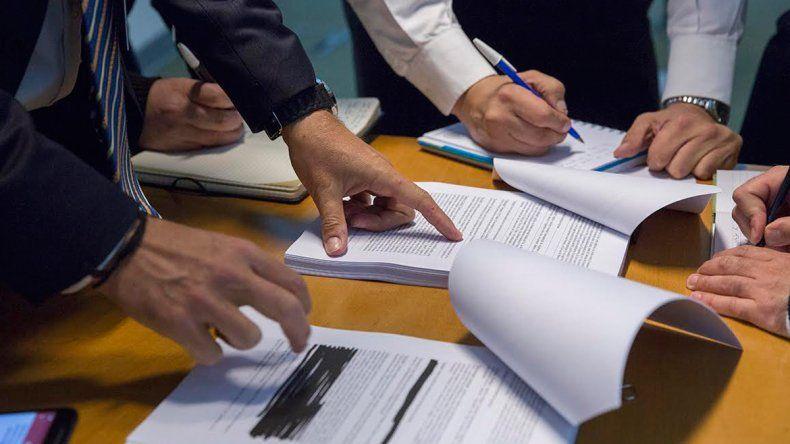 Los directivos de YPF dieron a conocer esta semana detalles del acuerdo ante la prensa en Buenos Aires.