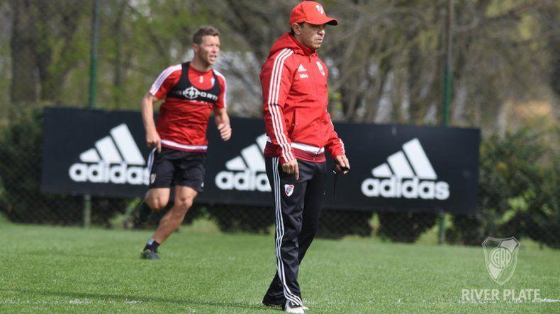 Gallardo está conforme con el equipo y no haría ningún cambio.