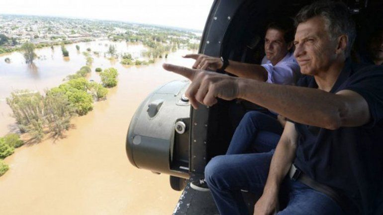 El helicóptero que llevaba a Macri sufrió un incidente tras dejarlo en Olivos