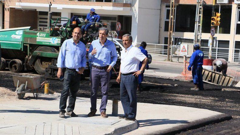 Siguen los trabajos en el corredor de Leloir y en 10 días estará habilitado para el tránsito