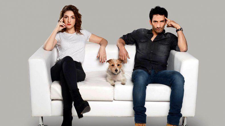Reversionados. El actor protagoniza junto con Julieta Zylberberg la versión argentina de Mad about you