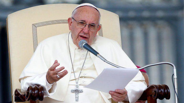 El Papa y su mensaje para un país dividido por el matrimonio igualitario.