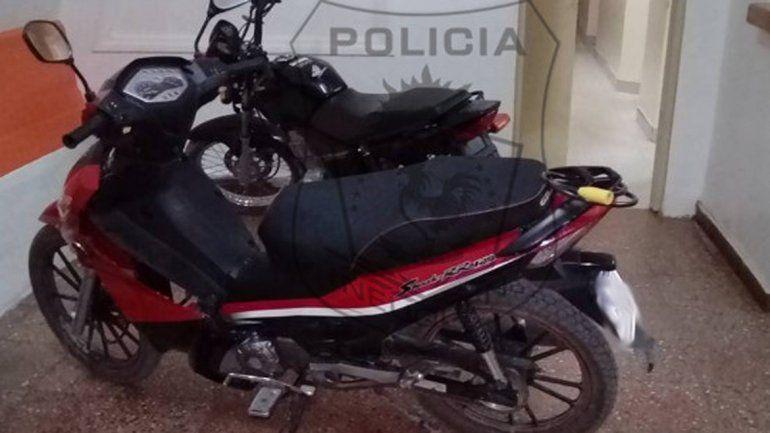 Las motos fueron recuperadas por efectivos de la Comisaría 5ª.
