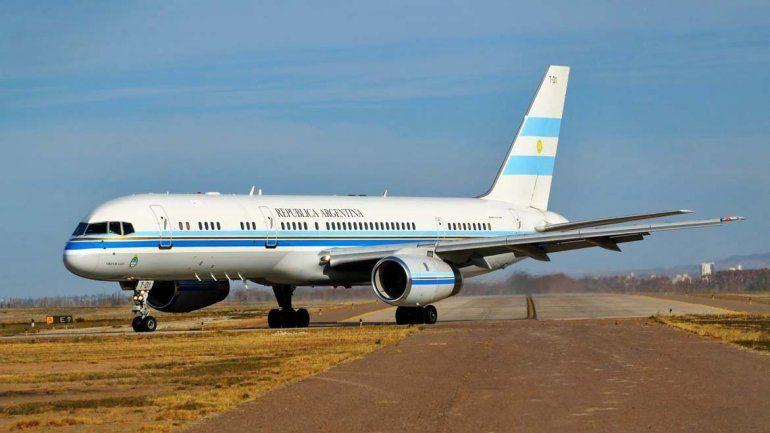 Reemplazan la flota presidencial con ocho aviones alquilados